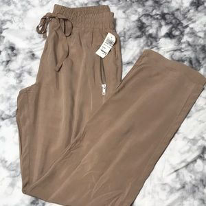 Love Tree loose fitting light tan pants